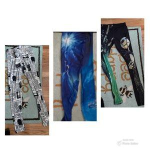 3 pairs of leggings $10 each